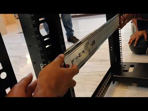HPE Server Unboxing Rail kit Installation & Rack Mount Large