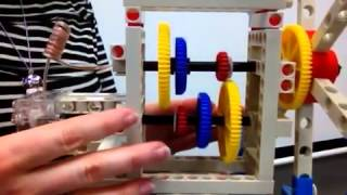 Windmill Lab - how to change the gear ratio