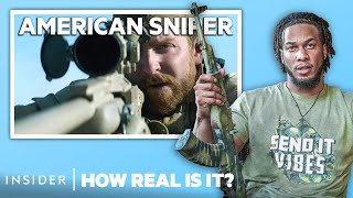 Special Ops Sniper Rates 11 Sniper Scenes In Movies | How Real Is It?