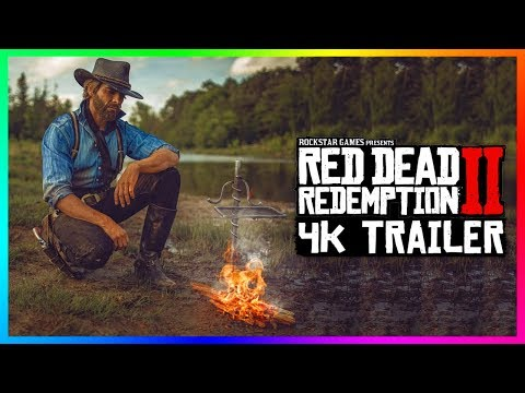 Red Dead Redemption 2 4K 60 FPS Trailer BREAKDOWN - NEW Story Mode DLC Content, PC Graphics & MORE!