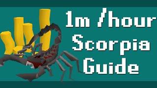 How to Make 1m /hr Trioing Scorpia - Old School RuneScape - MLGudi