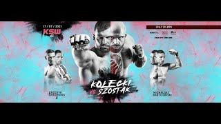 KSW 62: Kolecki vs. Szostak on Sat., July 17 at 2 p.m. ET LIVE on Fight Network