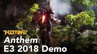Anthem E3 2018 Gameplay Demo