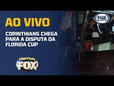 TIMÃO DESEMBARCA! Corinthians chega para a disputa da Florida Cup