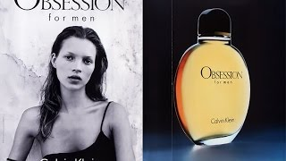 CK Obsession For Men (EDT) Calvin Klein Review (1986)