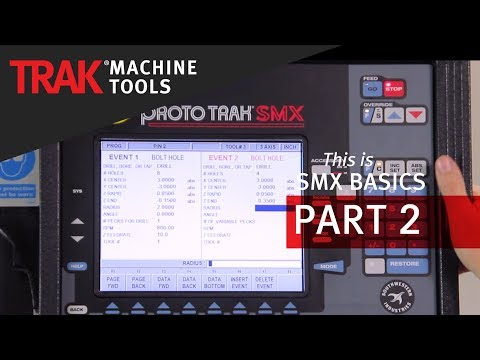 Bolt Hole Patterns on the ProtoTRAK SMX Control