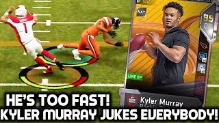KYLER MURRAY JUKES EVERYBODY! HE'S TOO FAST FOR THE DEFENSE! Madden 19 Ultimate Team