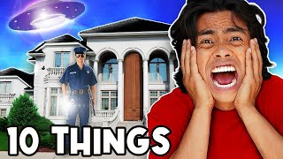 10 Things Not To Do at a MANSION!