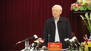 Tin Tức 24h: Tổng Bí thư Nguyễn Phú Trọng làm việc tại Nam Định