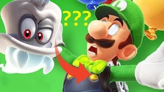 Luigi is CAPPY? A Very DARK Mario Odyssey Theory! (Game Theory Parody)