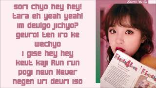 (G)I-DLE ~ Relay ~ EASY LYRICS