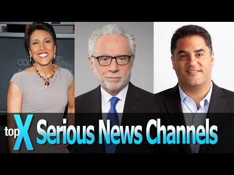 Top 10 Serious News YouTube Channels - TopX Ep. 5