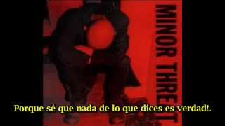 Minor Threat I Don't Wanna Hear It (subtitulado español)