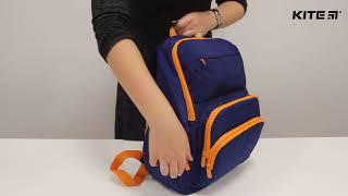 """Рюкзак Kite Junior K18-887M от компании Интернет-магазин """"Радуга"""" - школьные рюкзаки, канцтовары, творчество - видео"""