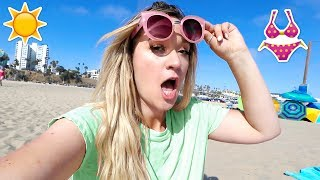 Day at the Beach! Summer Vacation! AlishaMarieVlogs