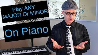 How To Play ANY Major or Minor Chord - A Tutorial For Beginners