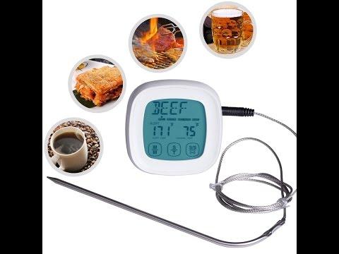 Recensione ITA ZeWoo® Digitale Termometro da Cucina Schermo Touch Screen LCD