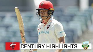 Patient Hunt snares a second Shield century | Marsh Sheffield Shield 2020-21