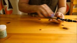 Чем пропитать пробковую рукоять спиннинга