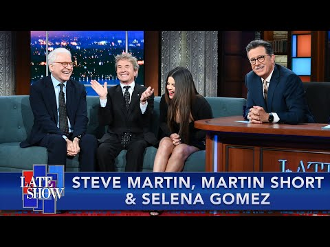 """An Idea In My Head For 10 Years - Steve Martin On Making """"Murders"""" With Martin Short & Selena Gomez"""
