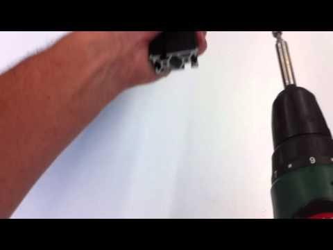 myhobby-CNC, Verwendung V2a Schraube zum Gewindeformen