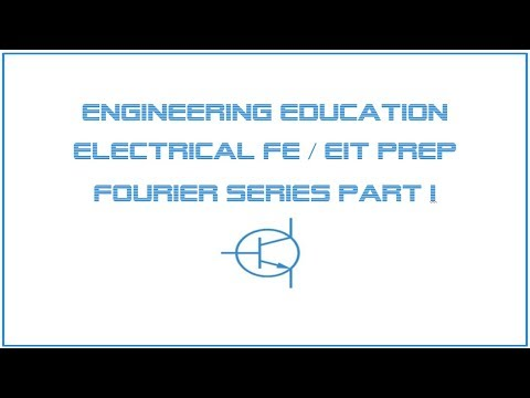Electrical FE /EIT Exam Prep - Communications 1: Fourier Series ...