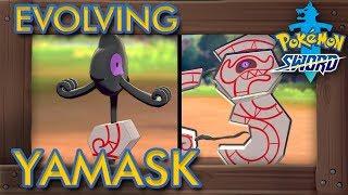 Runerigus  - (Pokémon) - Pokémon Sword & Shield - How to Evolve Yamask into Runerigus