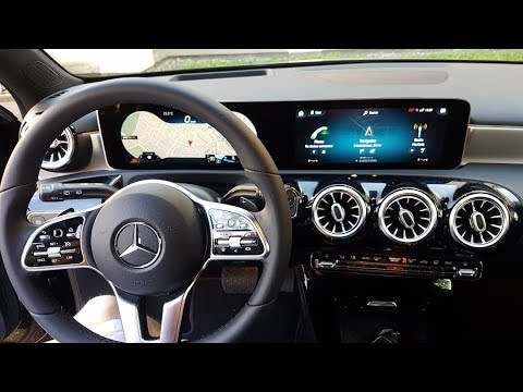 New Mercedes A Class 2018 – A200 Interior Explain – Short Preview before the BIG Review