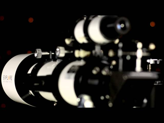 "Explore Scientific 102 mm f/7 FCD100 Triplet Refractor w/2.5"" HEX Focuser - FCD100-10207-01"