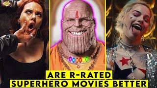 Are R-RATED Superhero Movies BETTER? || ComicVerse