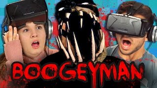 BOOGEYMAN - OCULUS HORROR GAME (Teens React: Gaming)