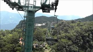 preview picture of video 'Zhangjiajie - Tianmen Mountain Fairy Peak chair-lift'