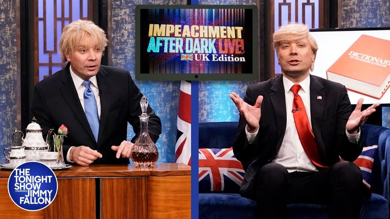 Impeachment After Dark: Trump and Boris Johnson Got Parent-Trapped thumbnail