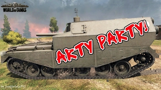 World of Tanks - Funny Moments | ARTY PARTY! #15