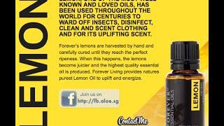 FOREVER Essential Oils : Lemon
