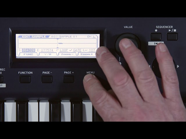 KROSS 2  Video Manual Part 5: Performing With The Pad Sampler
