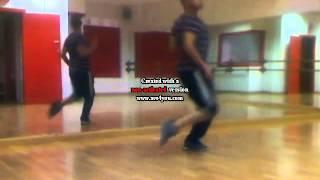 ensayo coreografía boy toy de angy