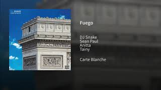 DJ Snake, Sean Paul, Anitta Ft. Tainy   Fuego (Official Audio)