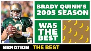 One magical season made Brady Quinn a Notre Dame legend   The Best thumbnail