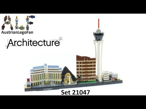 Vidéo LEGO Architecture 21047 : Las Vegas - Nevada, USA