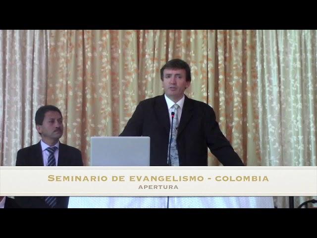 Seminario de Evangelismo – Pastor Pablo Hunger – Apertura