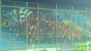 preview picture of video 'asteras tripolis - PARTIZAN (Partizan fans) 1'