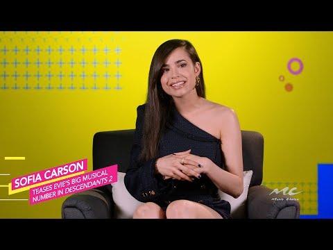 Sofia Carson Loves Evie's Musical Number in 'Descendants 2'