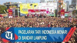 Pecahkan Rekor MURI, Pagelaran Tari Indonesia Menari di Bandar Lampung Diikuti 25 Ribu Peserta