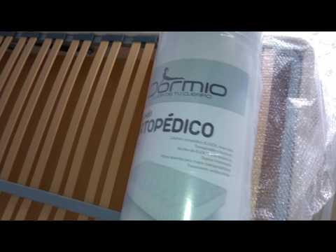 Unboxing Dormio Ortopédico - Colchón, 150 x 190 x 21 cm Vendido por: Amazon