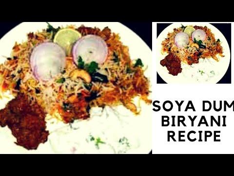 Soya Chunks Restaurant Style Special dum veg Biryani