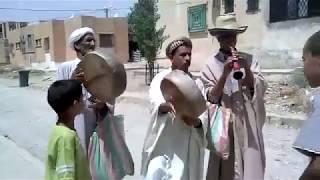 ghaita bendir en pleine rue