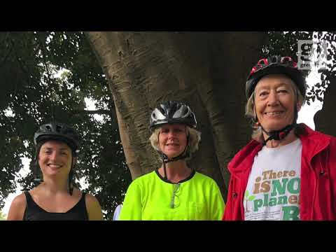 Bike ride for smaller, open and community empowering local councils