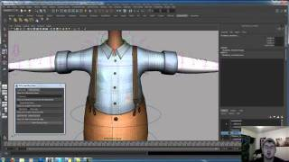 How to Copy Skin Weights in maya