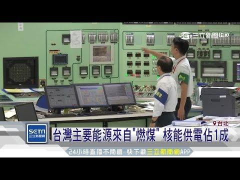 核能是台灣供電主力?!近4成國人錯很大 三立新聞台